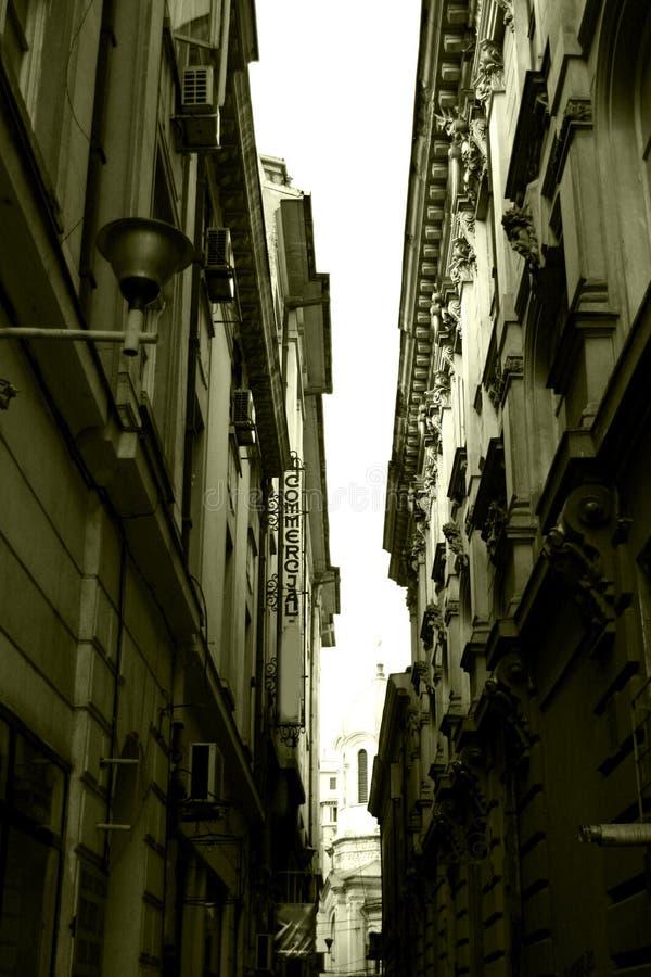 Edificios viejos de la ciudad fotos de archivo libres de regalías