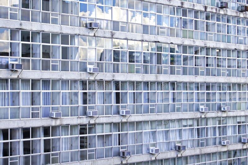 Edificios viejos en Curitiba el Brasil fotografía de archivo libre de regalías