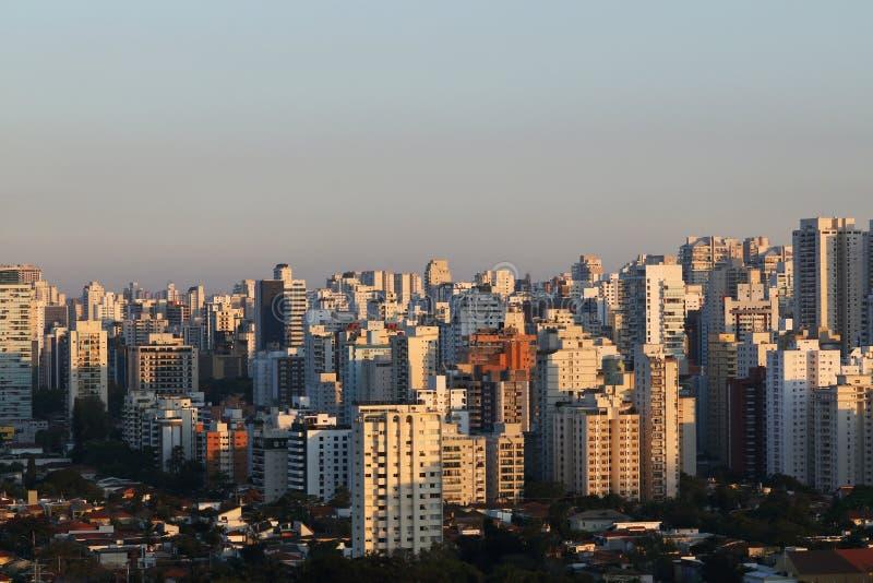 Edificios y hogares, Sao Paulo fotos de archivo libres de regalías
