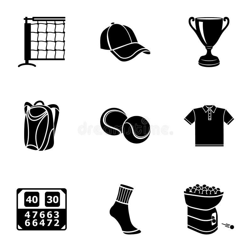 Edify ikony ustawiać, prosty styl ilustracja wektor