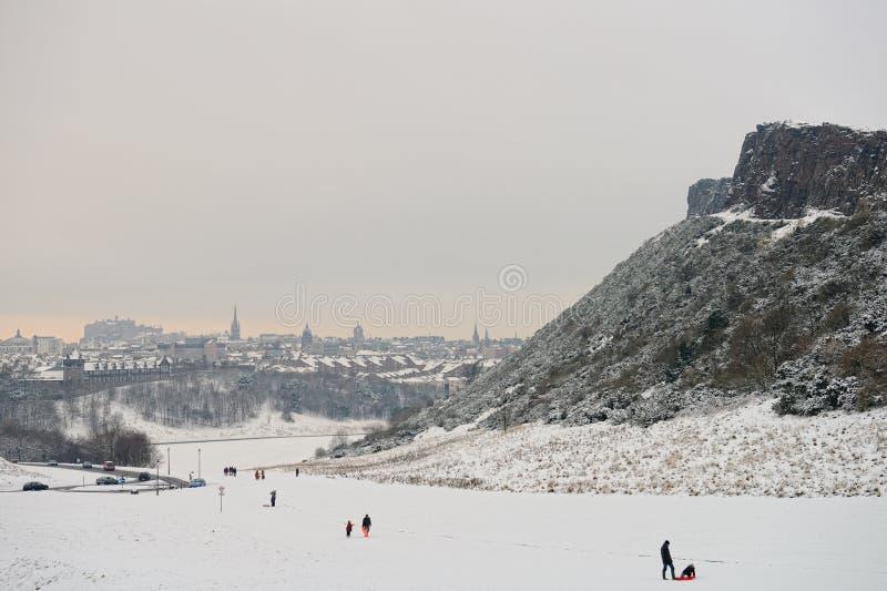 Edimbourg, Ecosse, R-U, horizon, image libre de droits