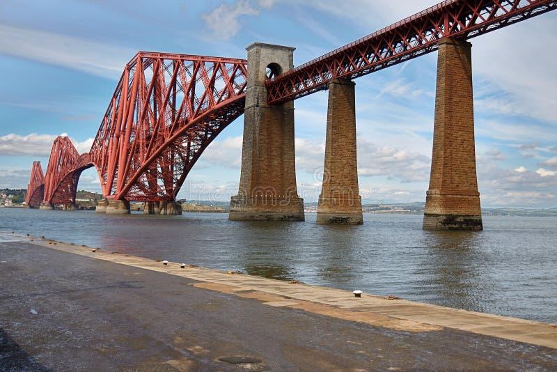 Edimburg, Scotland Fourth bridge royalty free stock photos