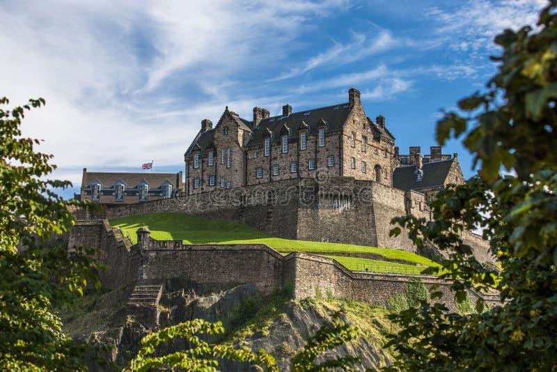 Edinburg Castle3 arkivbild