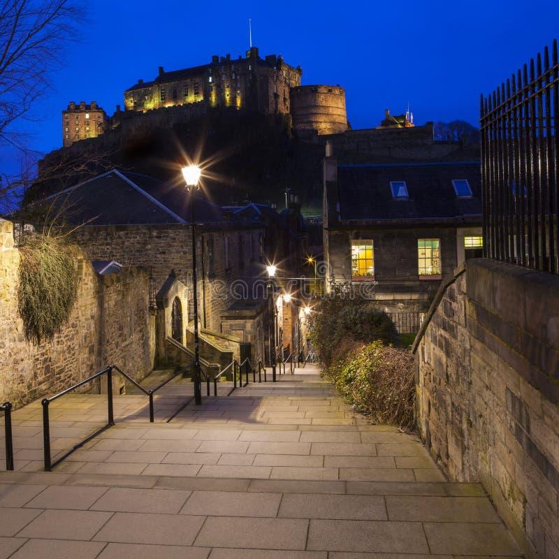 Edinburg i Skottland royaltyfri fotografi