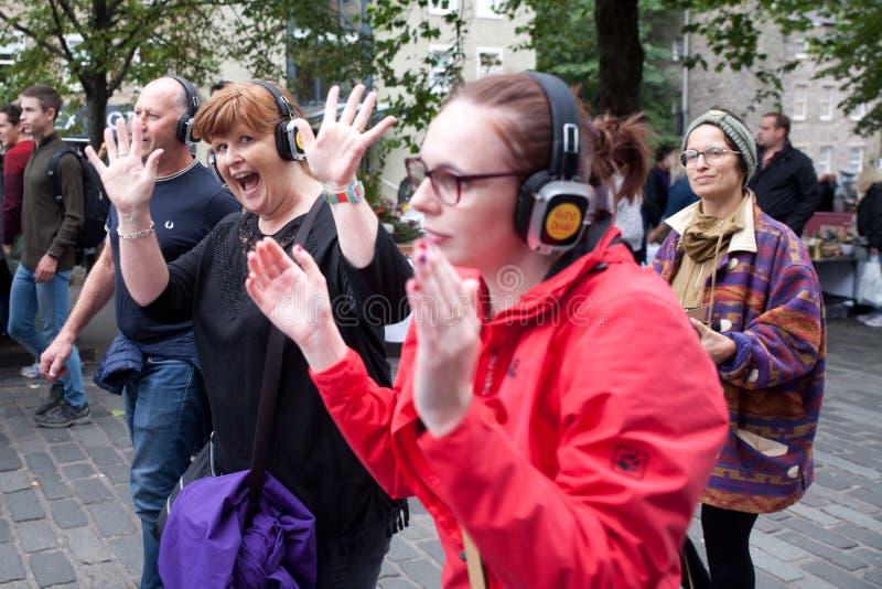 """Edinburgfestivalfrans 3†""""27 Augusti 2018 Breda ut sig som är olikt och precis lite grann galet arkivfoton"""