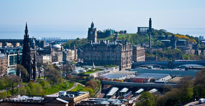 Download Edinburgh stock photo. Image of summer, ancient, building - 24706766