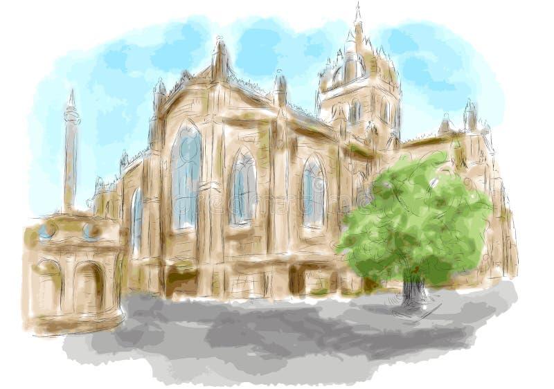 edinburgh бесплатная иллюстрация