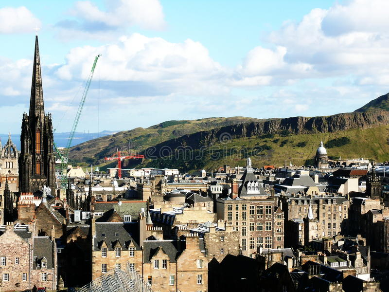 edinburgh fotografia royalty free