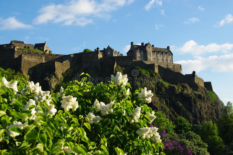 Download Edinburgh Castle stock photo. Image of edinburgh, design - 15844354