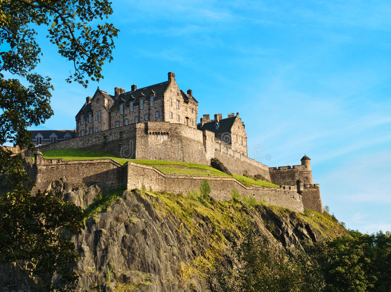 Download Edinburgh castle stock image. Image of city, edinburgh - 21622759