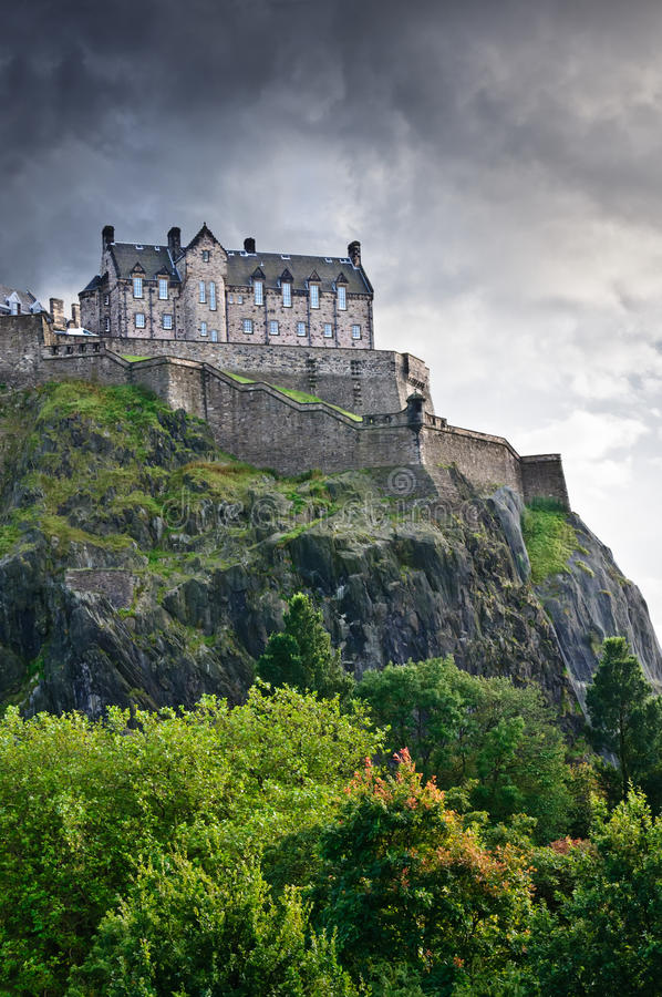Download Edinburgh castle stock photo. Image of landscape, kingdom - 21622770