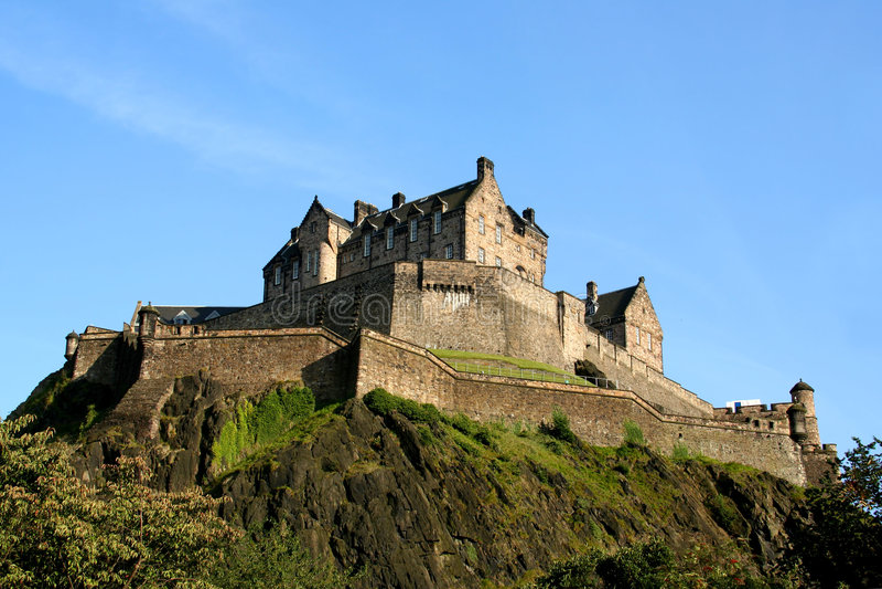 Download Edinburgh Castle Stock Images - Image: 3201194