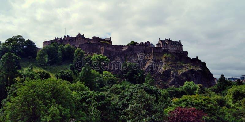 Edinburgh castle, Castle of Scottish Kings, the symbol of Scotland royalty free stock photos