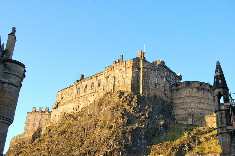 Download Edinburgh Castle, Scotland Royalty Free Stock Photos - Image: 24117468