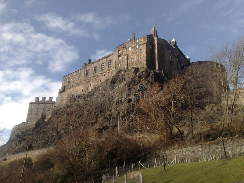 Edinburgh Castle - Scotland royalty free stock image