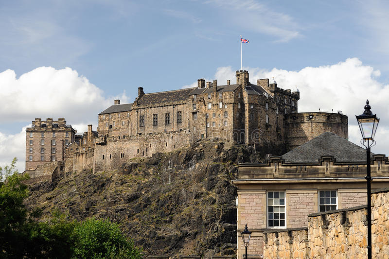 Download Edinburgh Castle From The South Stock Image - Image: 10849267