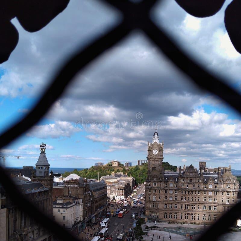 Edinburgh city, Calton Hill stock photos