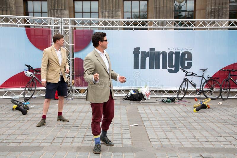 Edinburgh-Festival 2015 stockbilder