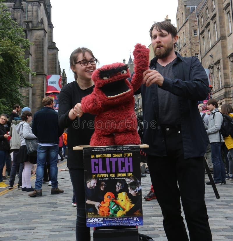 Edinburgh Fringe Festival 2016 royalty free stock photos