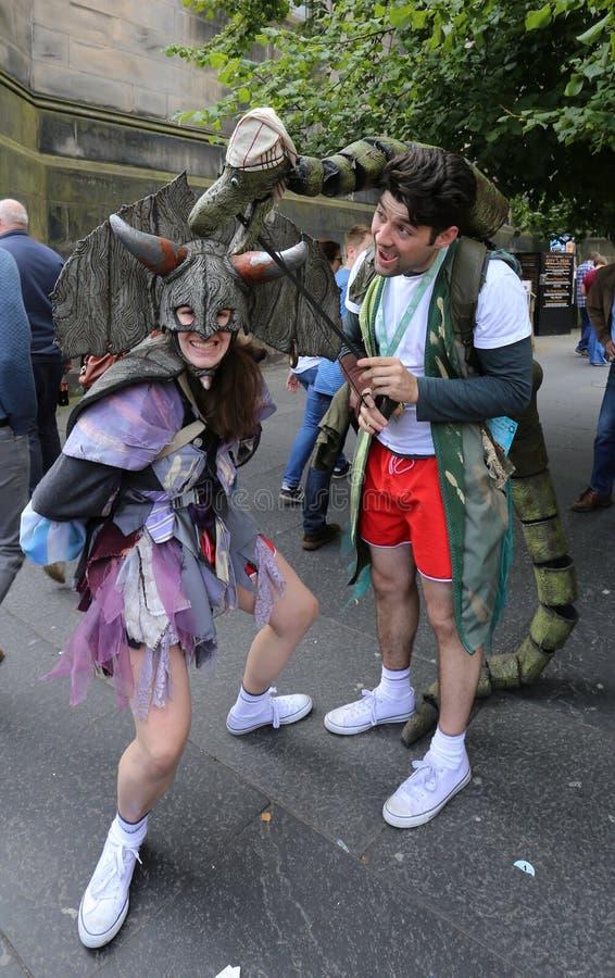Edinburgh Fringe Festival 2016 royalty free stock image