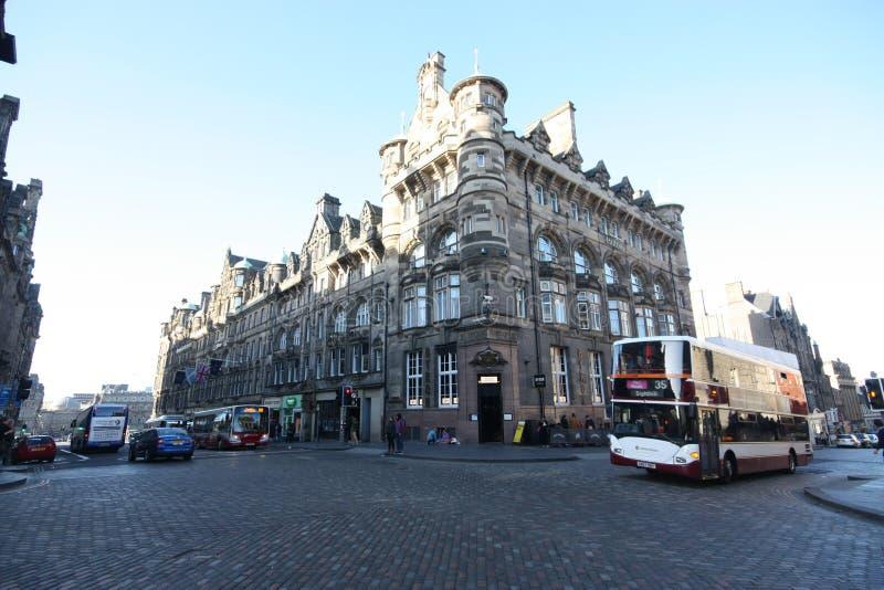Edinburgh - het Noordenbrug stock afbeeldingen