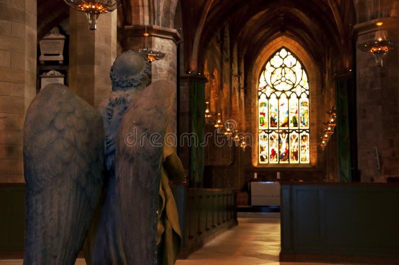 Edinburgh-Kirche lizenzfreie stockfotografie