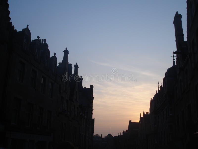 edinburgh linia horyzontu Scotland zdjęcia stock