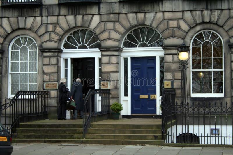 Edinburgh Mansion royalty free stock photography