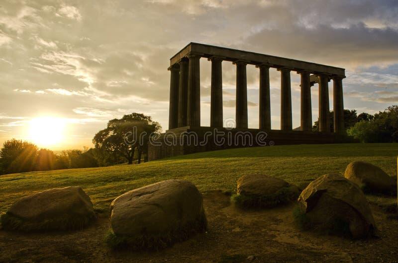 edinburgh monumentnational arkivfoto
