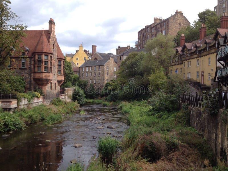 Edinburgh-neue Stadt stockbilder
