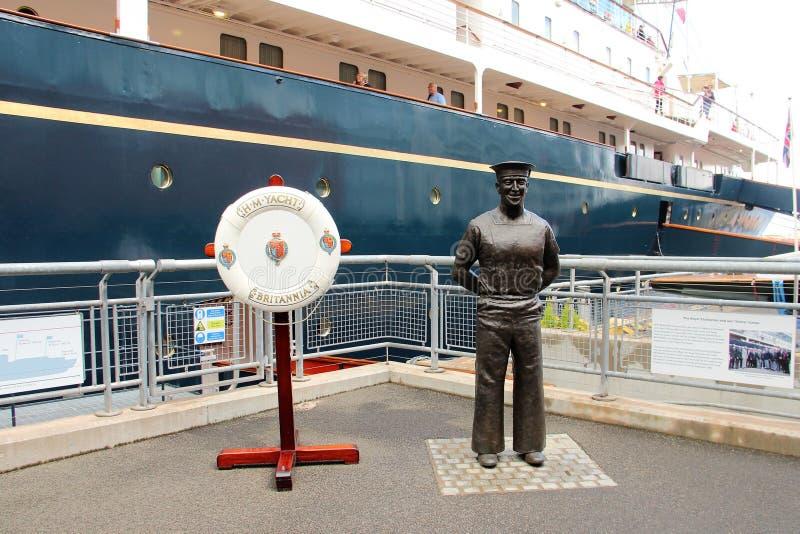 Edinburgh, Royal Yacht Britannia royalty free stock photo