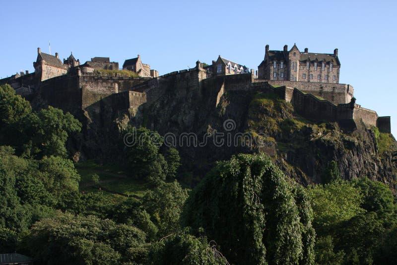 Edinburgh-Schloss stockfotos