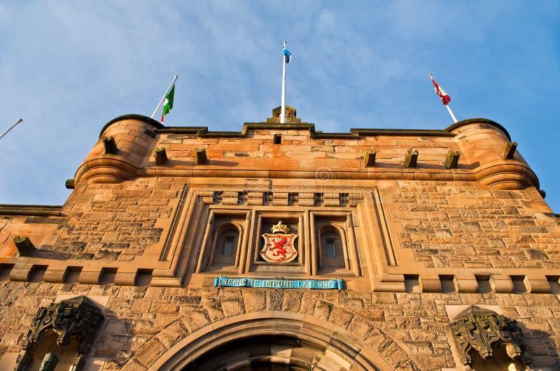 Edinburgh-Schloss lizenzfreie stockbilder