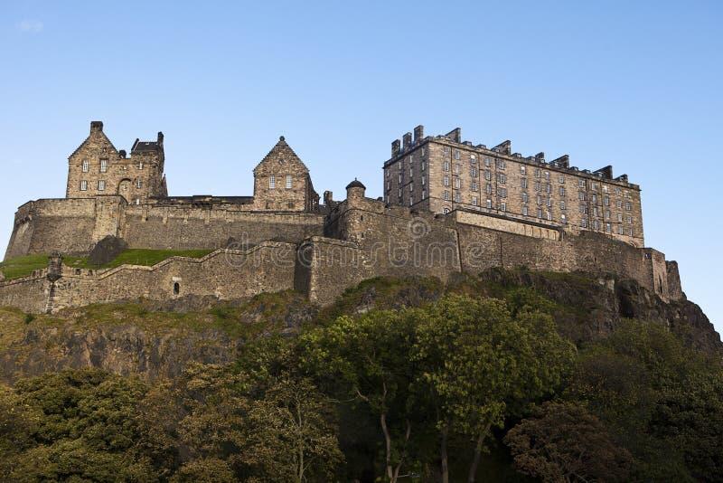 Edinburgh-Schloss-Festung stockfotos