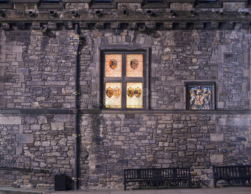 Edinburgh-Schloss großer Hall stockfoto