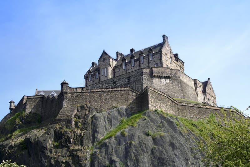 Edinburgh-Schloss Schottland lizenzfreie stockfotos