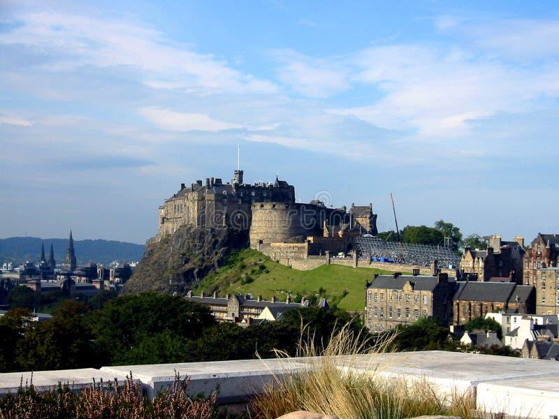 Edinburgh-Schloss, Schottland stockfotos
