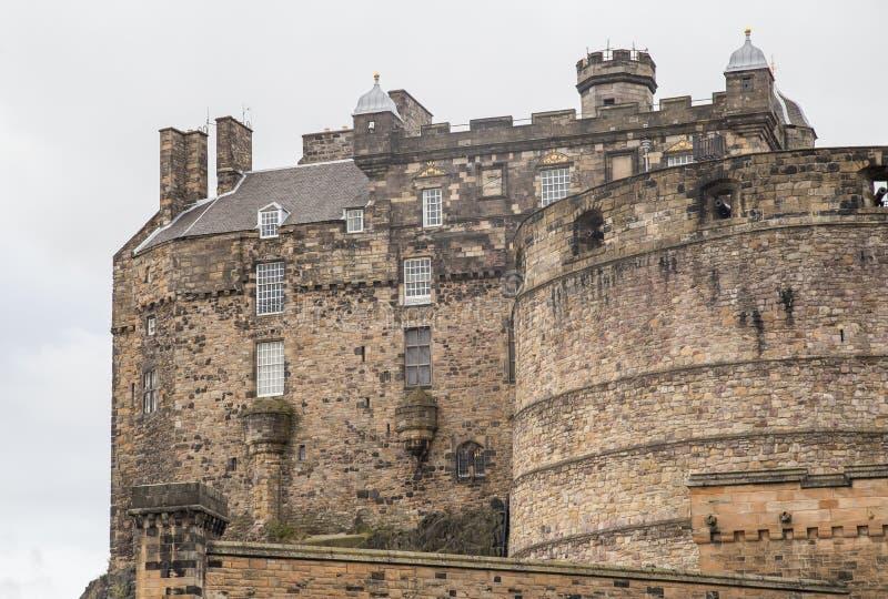 Edinburgh-Schloss, Vereinigtes Königreich 2018 stockbilder