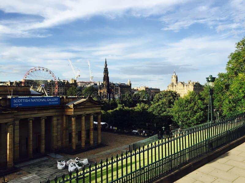 Edinburgh Schotland stock foto