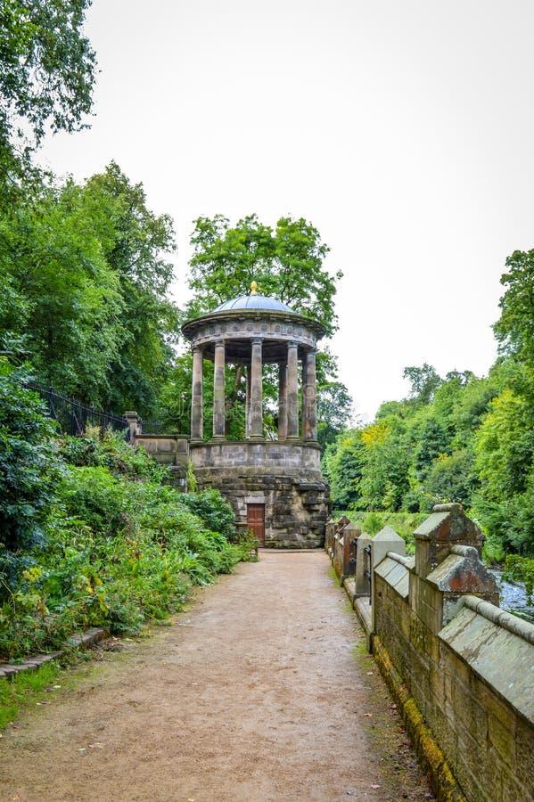 Edinburgh, Schotland - Sint-bernard ` s goed in Stockbridge stock fotografie