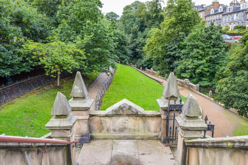 Edinburgh, Scotalnd - Stockbridge royalty-vrije stock fotografie