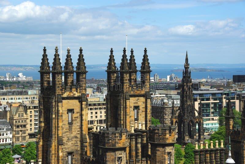 edinburgh scotland royaltyfria foton