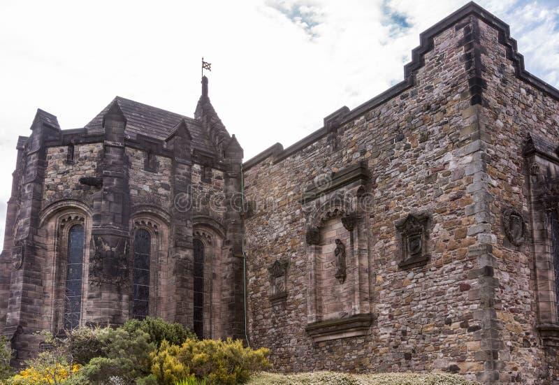 Scottish National War Memorial at Castle, Edinburgh, Scotland. royalty free stock images
