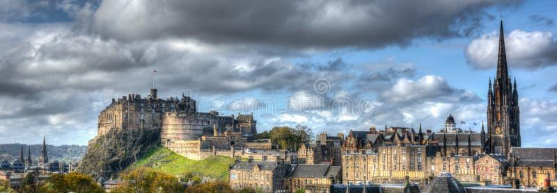 Edinburgh Skottland royaltyfri bild