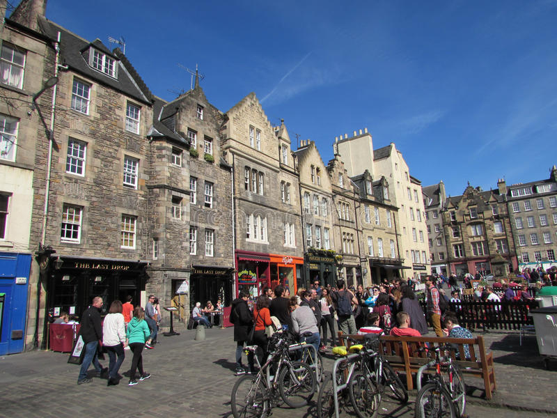 Edinburgh Skottland arkivfoto