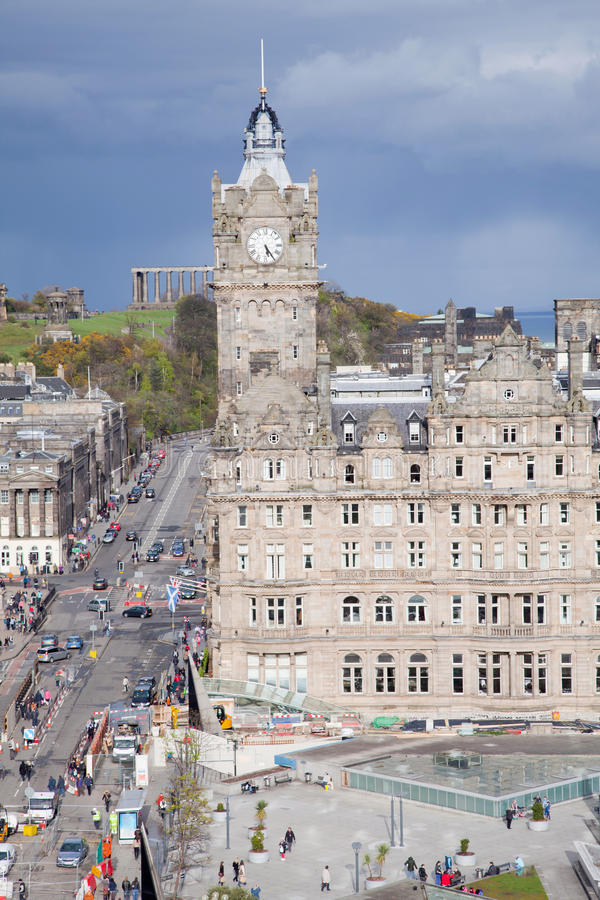 Edinburgh Skylines Building Royalty Free Stock Photography