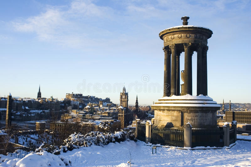 Edinburgh-Stadtbild lizenzfreies stockfoto