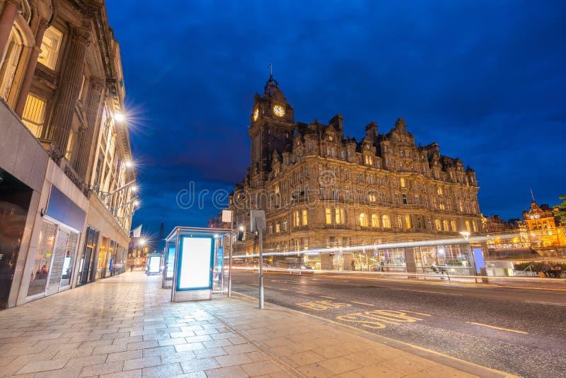 Edinburgh-Stadtbild stockfotos