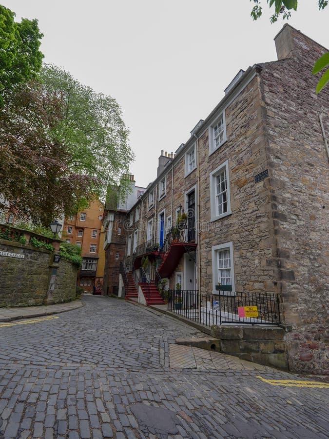 Edinburgh-Stadtzentrum lizenzfreies stockbild