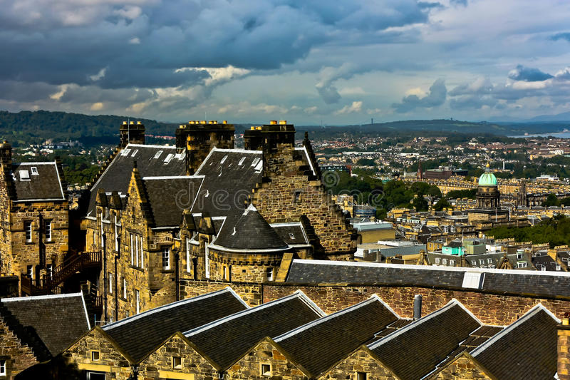 Download Edinburgh View stock photo. Image of city, british, isles - 21140546